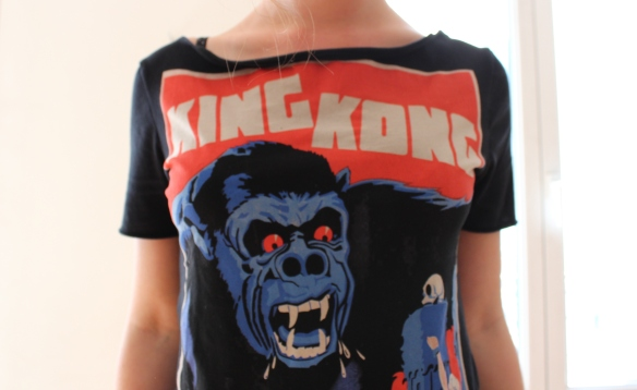 King Kong - Gros plan